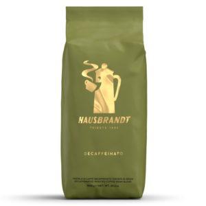 Кофе в зернах Hausbrandt Decaffeinated без кофеина